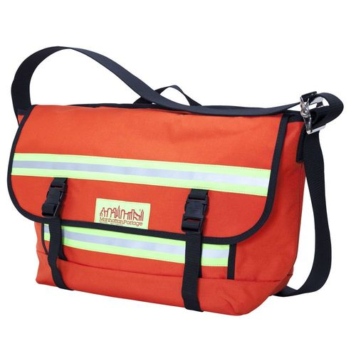 [Manhattan Portage] PRO BIKE MESSENGER BAG WITH STRIPES (MD) - ORANGE