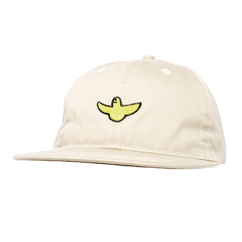 [Krooked] OG BIRD EMB STRAPBACK  - CREAM