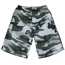 Cammo Mesh Shorts - Fighter Jet