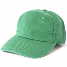 Brushed Cotten 6 Panel cap - Kelly