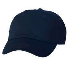 Brushed Cotten 6 Panel cap - Navy