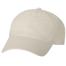 Brushed Cotten 6 Panel cap - Beige