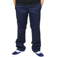 Slim Straight Workpants(873) - Dark Navy