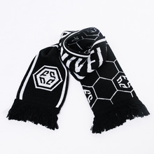 [Nivelcrack]Football Ultras Scarf - Black/White