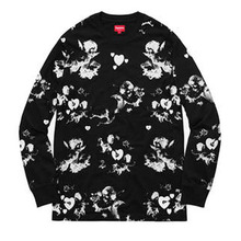 [Supreme] Cherub Long Sleeve - Black