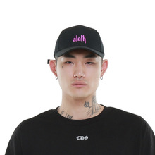 [Coup de grace] SLOTH DANTE 5 PANNEL WOOL CAP - BLACK