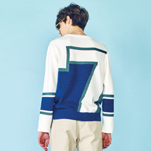 [HEICH BLADE] SEASON GRAPHIC LONG SLEEVE TOP - WHITE