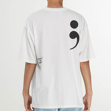 [엠지아이] MGI Semi-colon t-shirts - WH