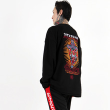 [weksnoop] Jesus Crucified Crewneck - Black
