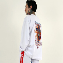 [weksnoop] Jesus Crucified Crewneck - White