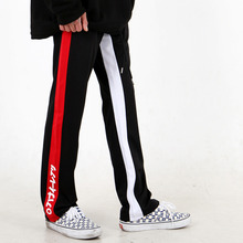 [weksnoop] Side Logo TrackPants – Black