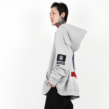 [weksnoop] Cry Of God Hoodie - Grey