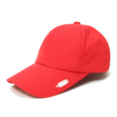 [Double adrenaline syndrome] Signature buckle ballcap - RED