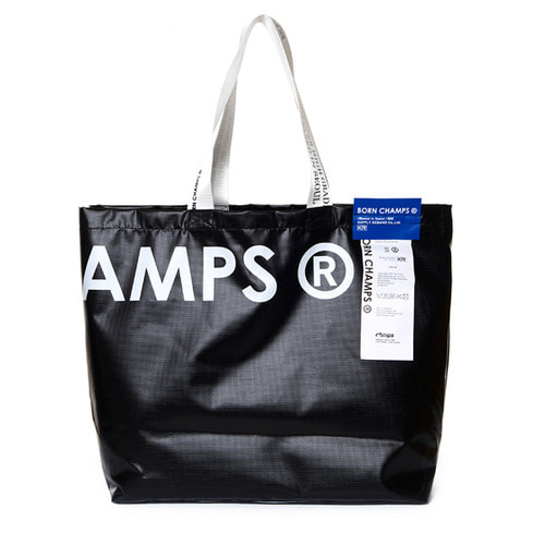 [Bornchamps]BC SHOPPER BAG BLACK CERFMBG04BK