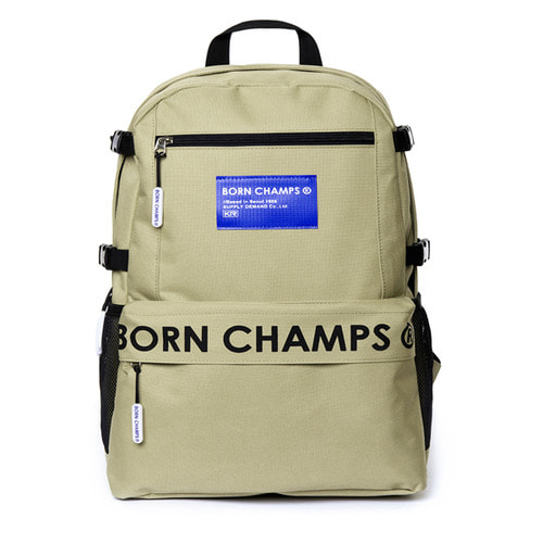 [Bornchamps]BC TIME BACKPACK BEIGE CERFMBG06BE
