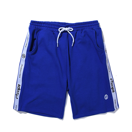 [Bornchamps]TAPE SHORTS PANTS CERBMTP01BL