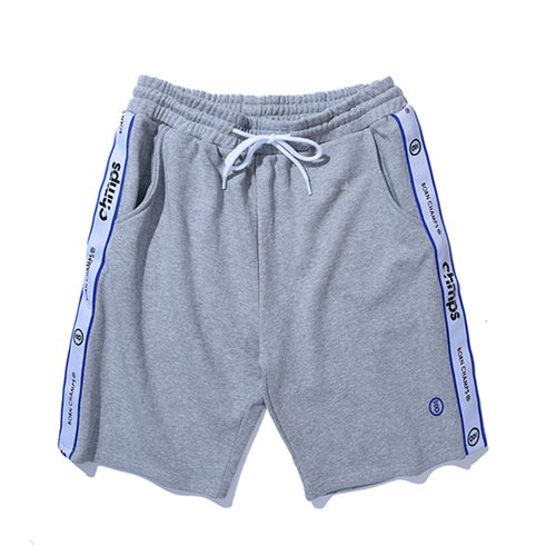 [Bornchamps]TAPE SHORTS PANTS CERBMTP01GY