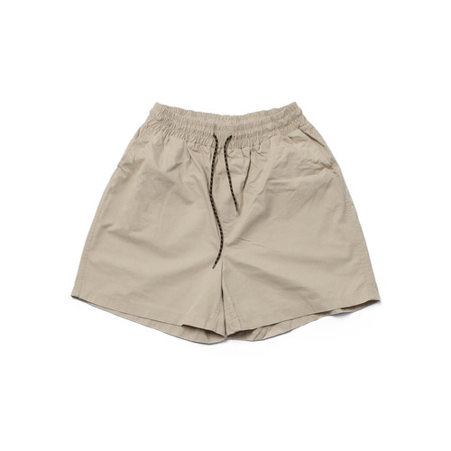 [Realization] Washed Cotton Shorts [BEIGE]