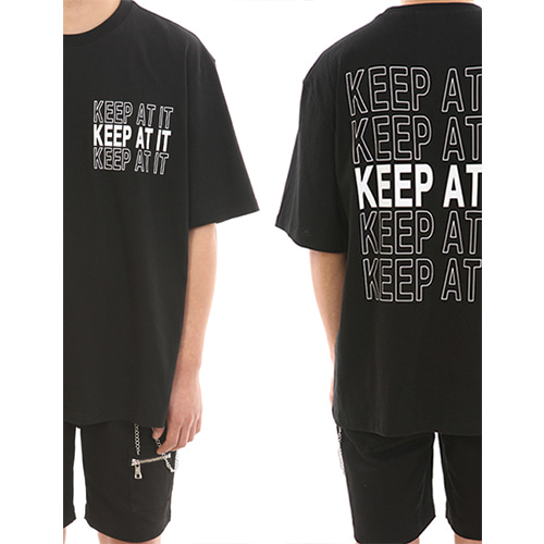 [LANG VERSIO] Keep At It Tee 1/2