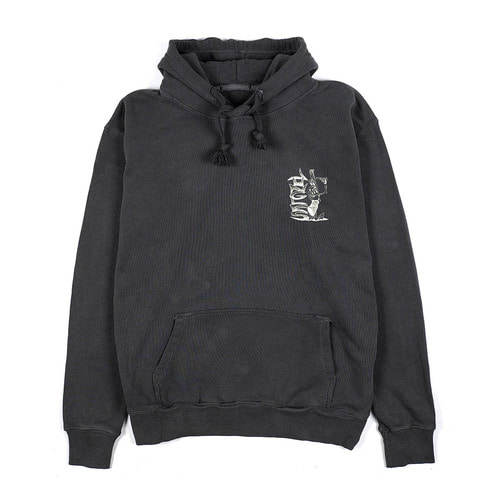 [Jungles] STOP THE VIOLENCE HOODIE - CHARCOAL