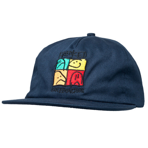 [Krooked] KD ULTRA SNAPBACK  - DARK NAVY