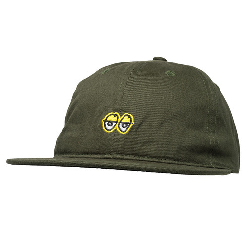 [Krooked]   KR EYES EMB STRAPBACK - DARK ARMY