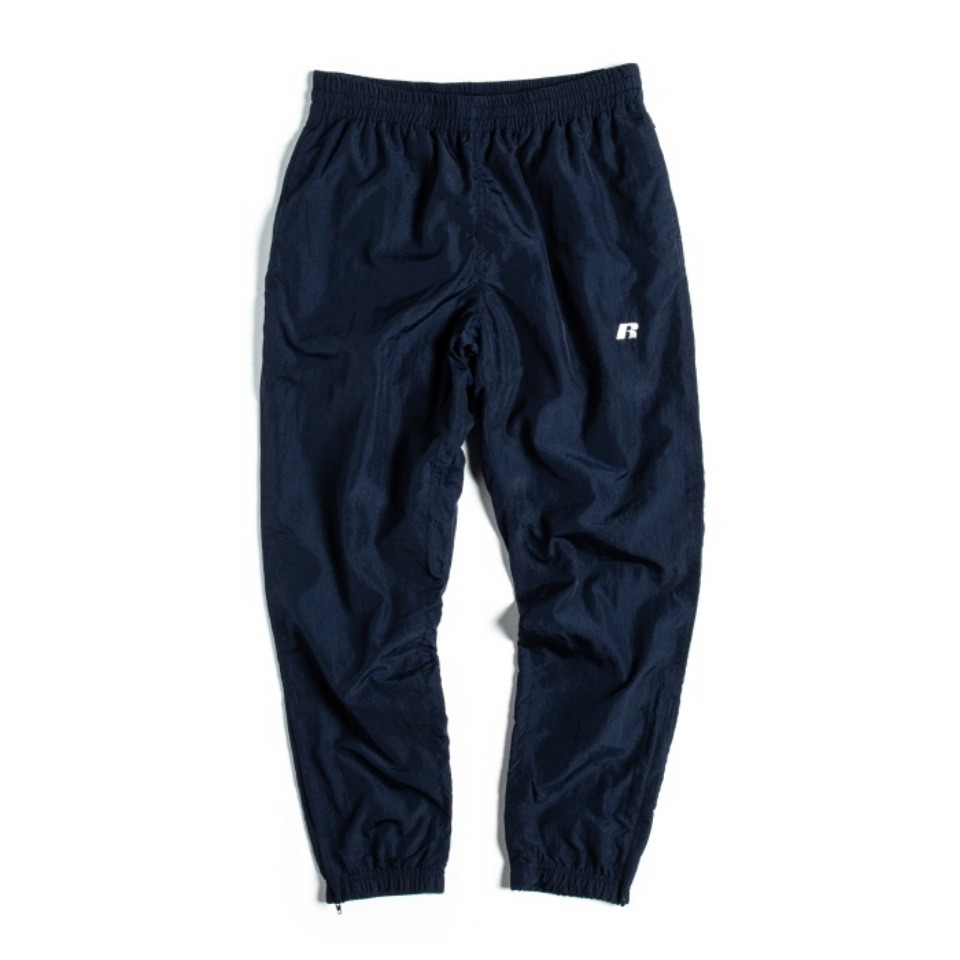 [RUSSELL ATHLETIC] NYLON SHELL TRACK PANTS - NAVY