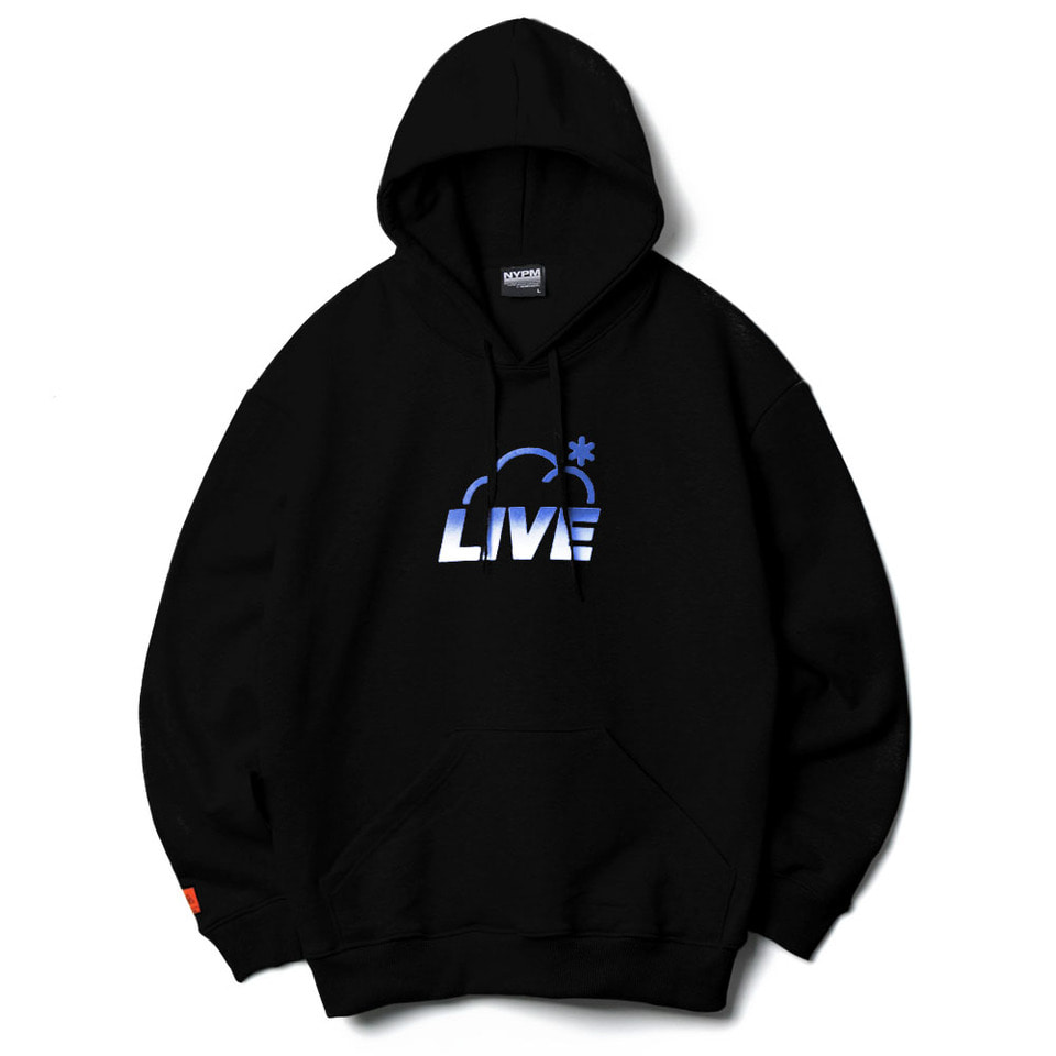 [NP] LIVE OVERSIZED HOODIE BLACK (NP18A055H)
