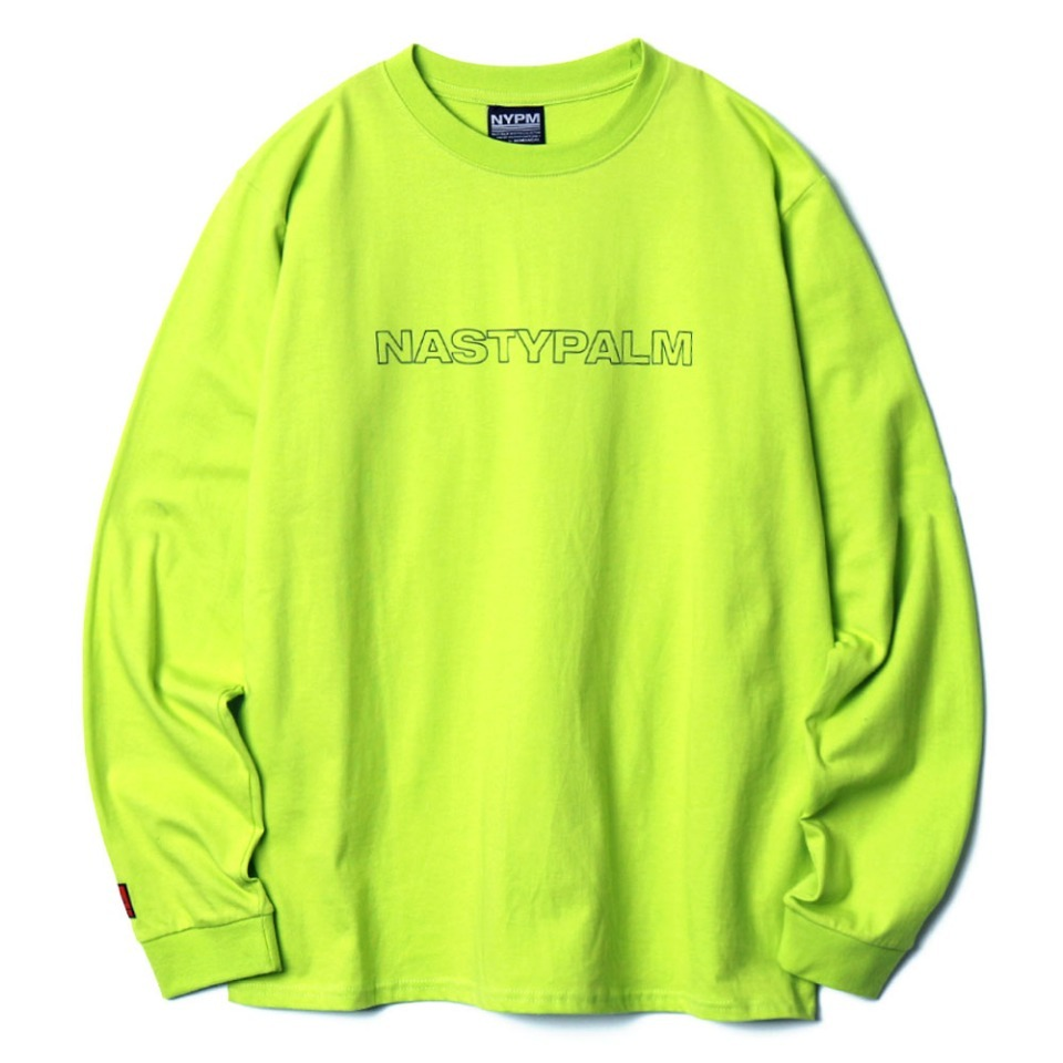 [NP] NYPM LONGSLEEVE NEON GREEN (NP18A061H)
