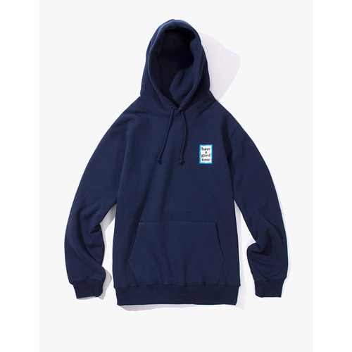 [Have a good time] MINI BLUE FRAME PULLOVER HOODIE - NAVY