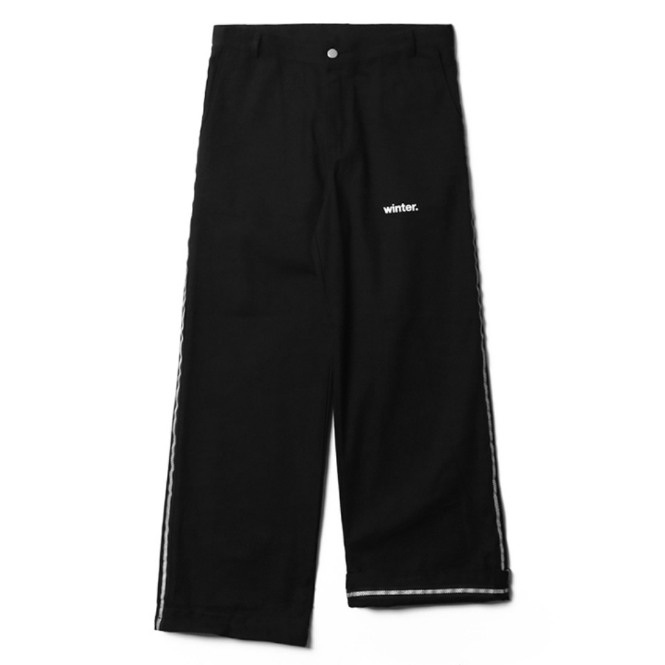 [NP] SAFETY LINE PANTS BLACK (NP18A064H)