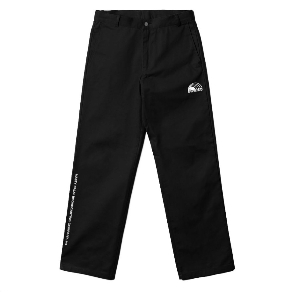 [NP] NYPM REPORTER PANTS BLACK (NP18A065H)