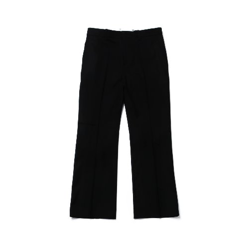 [Realization] Wide Wool Slacks [BLACK]