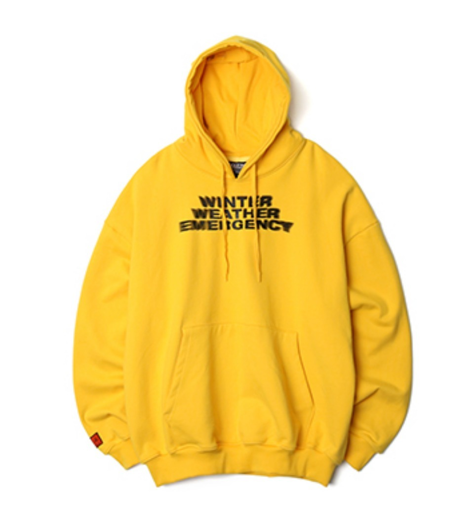 [NP] W.W.E OVERSIZED HOODIE YELLOW (NP18A053H)