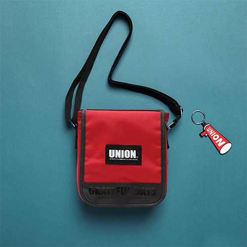 [Unionobjet] UNION COVER CROSS BAG - RED