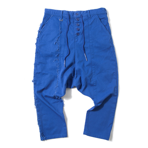 [KING] Sarouel Pants -Blue