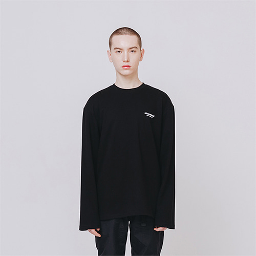 [EINEN]Original Logo L-Sleeve Black