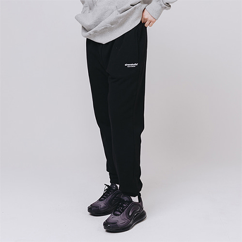 [EINEN]Original Logo Sweatpants Black