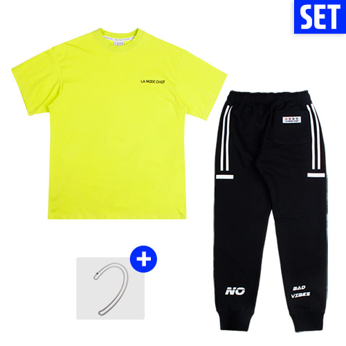 [LAMODECHIEF][1+1+1] SHORT SLEEVE + PANTS SET No.1