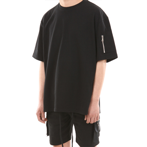 [LANG VERSIO] Zipper Pocket Tape TEE 1/2