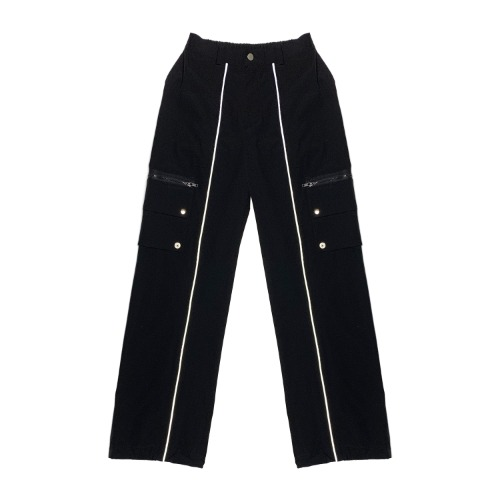 [VERDAMT] Detachable Jogger Pants - Black