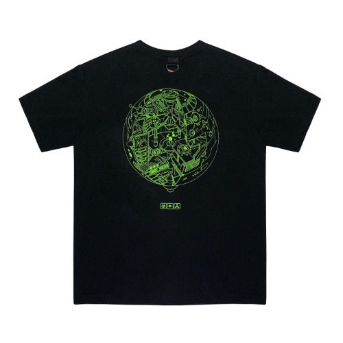 [VERDAMT] Space Tshirt - Black