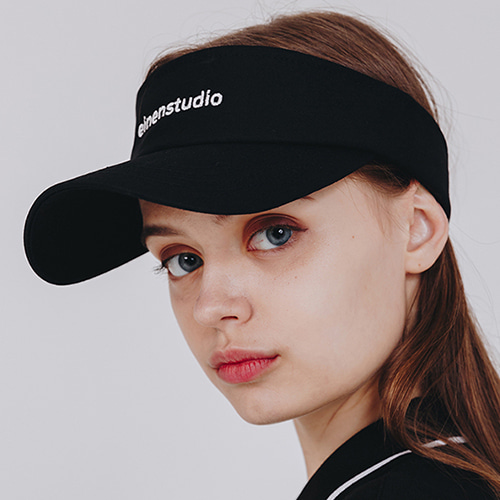 [EINEN]Medium Logo Sun Visor Black