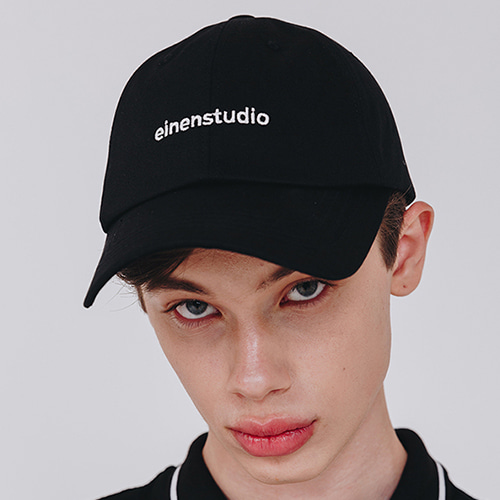 [EINEN]Medium Logo Ballcap Black