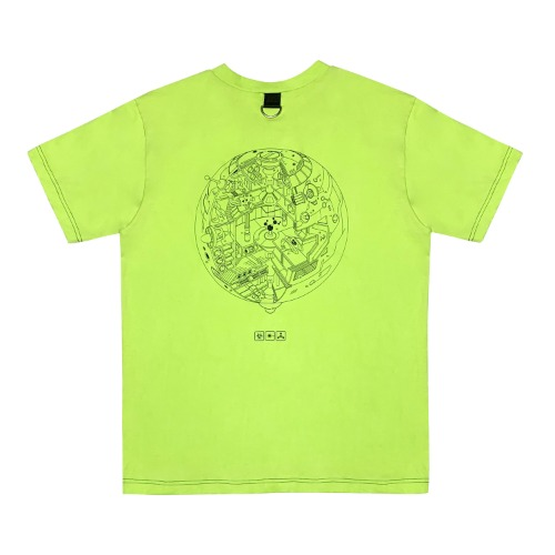 [VERDAMT] Space Tshirt - Green