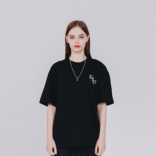 [EINEN]Small ESO Logo T-Shirts Black