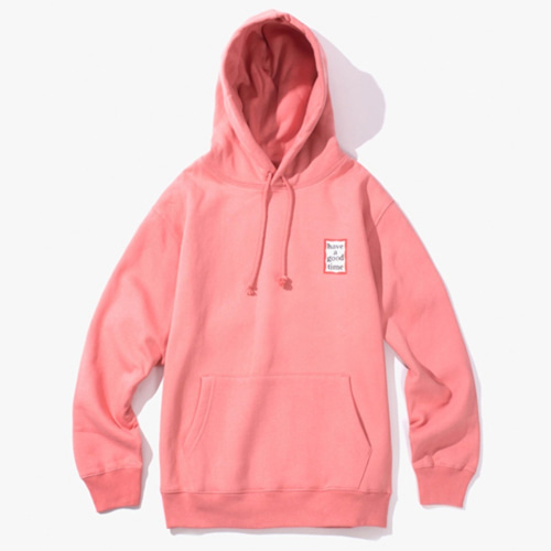 [Have a good time] MINI FRAME PULLOVER HOODIE - INDIE PINK