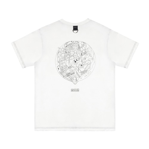[VERDAMT] Space Tshirt - White