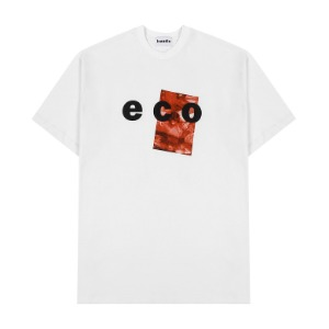 [INNERCITYAUDIO] ECO GRAPHIC T-SHIRTS - WHITE