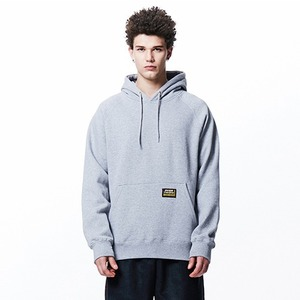[OVERTHEONE][107] BASIC FIT RAGLAN HOODIE (GRAY)